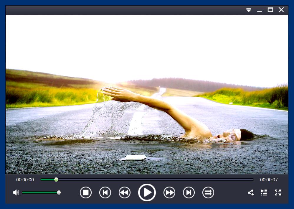 ゼウスプレイヤー フリー版 製品画面 イメージ